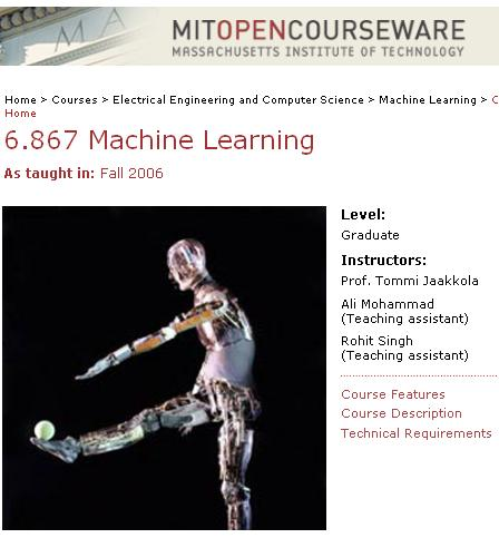 6.867 Machine Learning